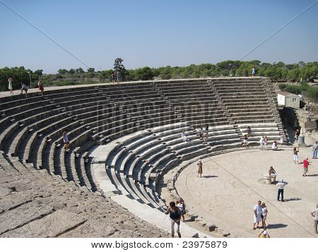 Northern Cyprus.Amphitheater.
