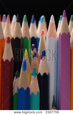 Pencils Different Colors.