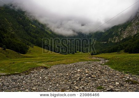 landscape of mountain