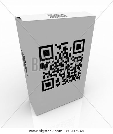 The QR Code on a product box allows you to scan the unique barcode and get special information on the product on your mobile smart phone or other device
