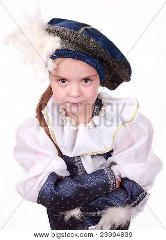 little girl as a prince