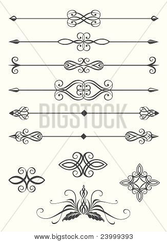 Collection Of Line Dividers