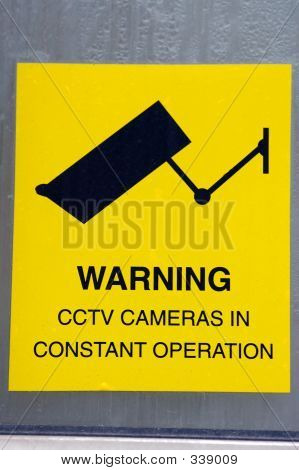 Cctv Warning Sign 01