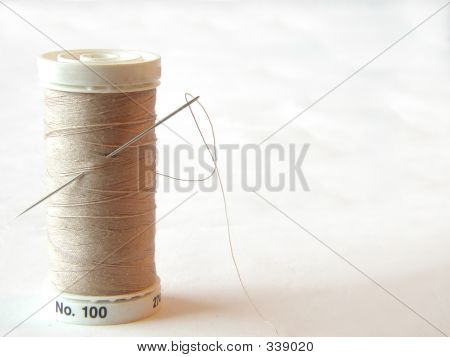 Needle And Thread Horizontal