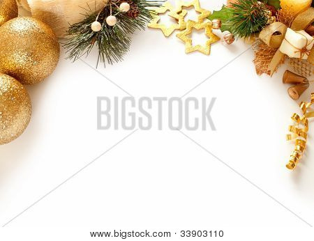 Christmas decoration. background with space for text or image.