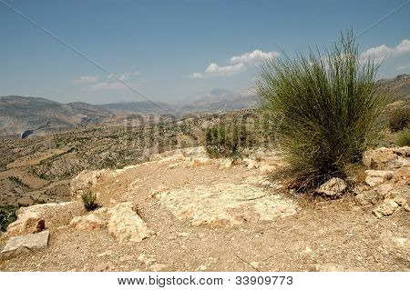 Arid Lanscape In Kurdistan