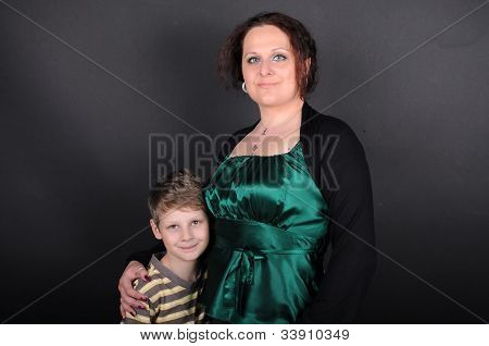 Boy And Woman