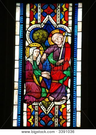 Stained Glass, Religious Scenes