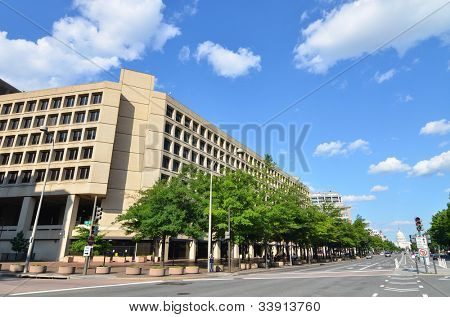Washington dc j. Edgar hoover fbi Gebäude in Pennsylvania Straße