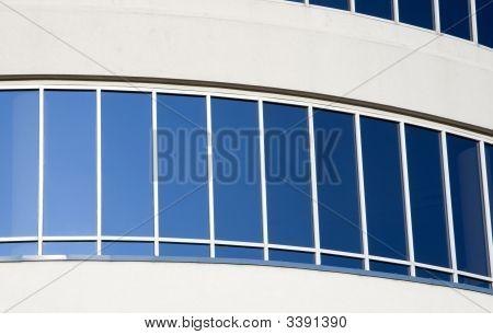 Windows On A Corporate Skyscraper