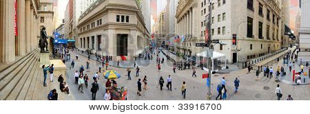 NEW YORK CITY - MAY 22: New York Stock Exchange May 22, 2012 in New York, NY. With origins as far back as 1792, the NYSE is currently the world's largest exchange by market capitalization.