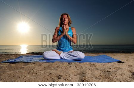 Full Lotus Pose For Meditation