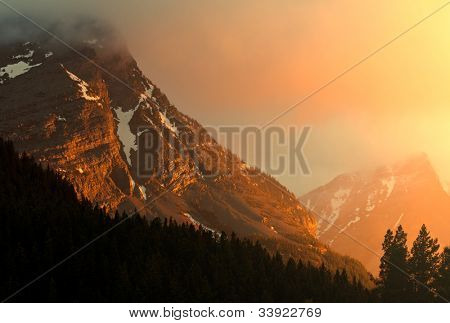 Glacier National Park  landscapes