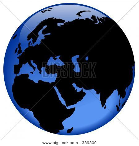 Globe View - Middle East