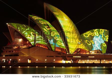 Vivid Sydney Festival - Opera House