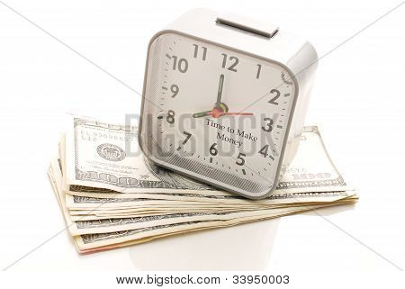Time To Make Money Concept