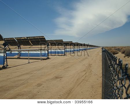 Solar Mirror Arrays