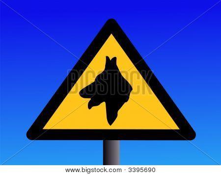 Aviso de perro de guardia
