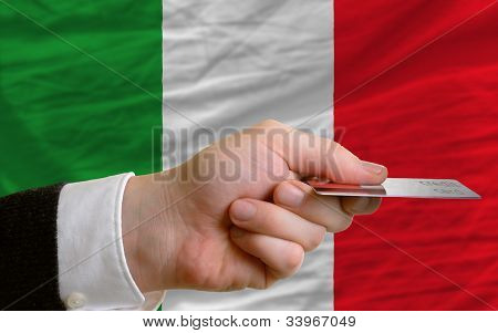Buying With Credit Card In Italy