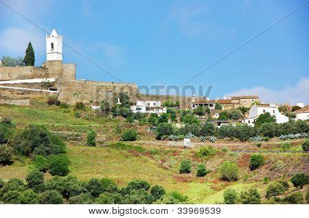 Landscape Of Monsaraz, Old Village.