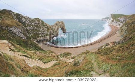 Durdle Door Beach Jurassic Coast Dorest