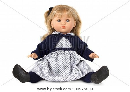 Doll Isolated On White