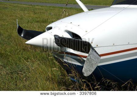 Damaged Airplane