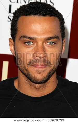 LOS ANGELES - JUN 14:  Jesse Williams arrives at the