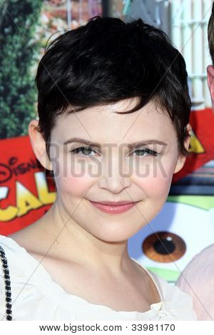 ANAHEIM - JUN 13:  Ginnifer Goodwin arrives at the