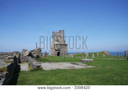 Aberystwyth Castle Wales Uk