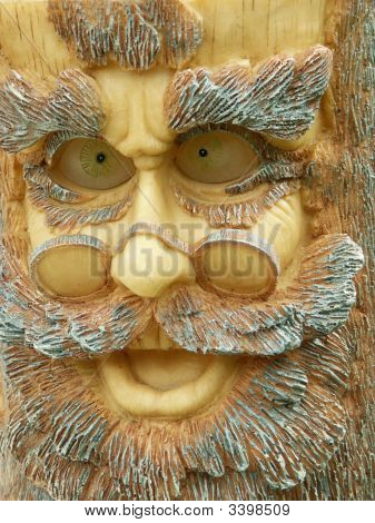 Grandpa Wood Face