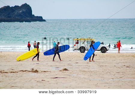 Surfers, Newquay