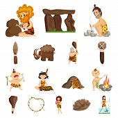 Vector Illustration Of Ancient And Age Logo. Collection Of Ancient And Archeology Vector Icon For St poster