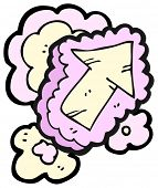 picture of frilly  - cartoon frilly arrow - JPG