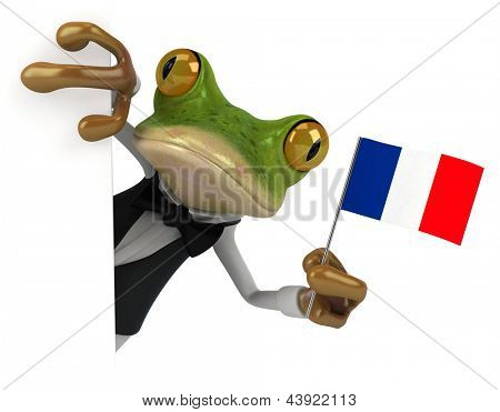 French frog