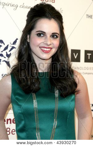 LOS ANGELES - MAR 23:  Vanessa Marano arrives at the 2013 Genesis Awards Benefit Gala at the Beverly Hilton Hotel on March 23, 2013 in Beverly Hills, CA