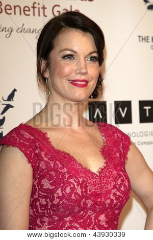 LOS ANGELES - MAR 23:  Bellamy Young arrives at the 2013 Genesis Awards Benefit Gala at the Beverly Hilton Hotel on March 23, 2013 in Beverly Hills, CA