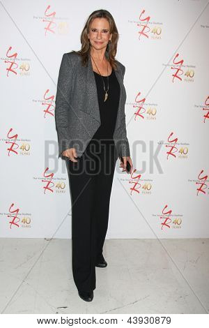 LOS ANGELES - MAR 26:  Jess Walton attends the 40th Anniversary of the Young and the Restless Celebration at the CBS Television City on March 26, 2013 in Los Angeles, CA