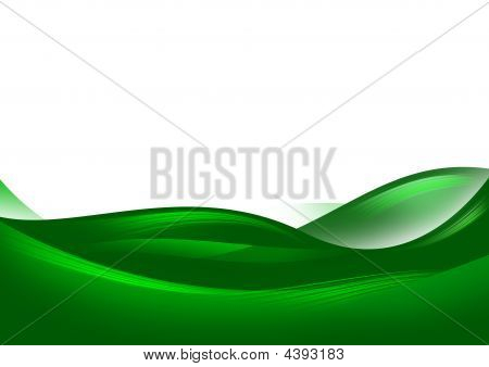 Abstract Green Hills