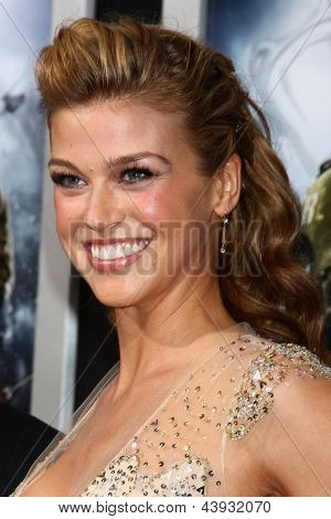 LOS ANGELES - MAR 28:  Adrianne Palicki arrives at the