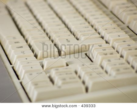Dirty Computer Keyboards