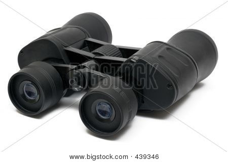 Binoculars Front - Top Side View W/ Path