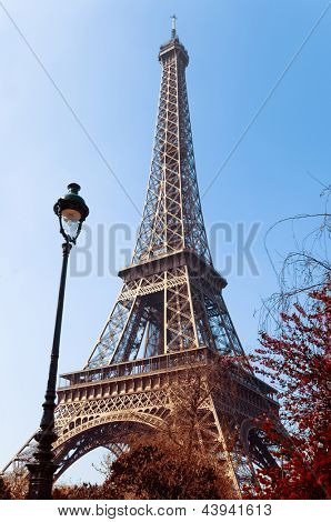 Eiffel Tower (nickname La dame de fer, the iron lady),The tower has become the most prominent symbol of both Paris and France