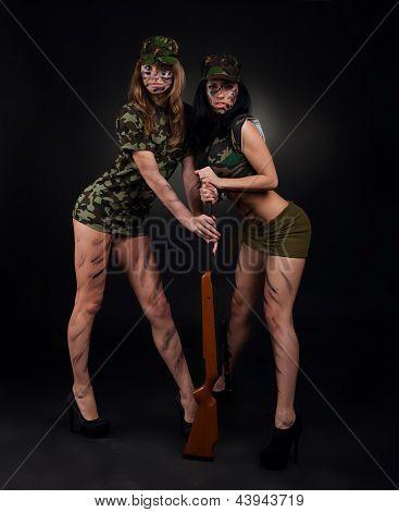 millitary girls
