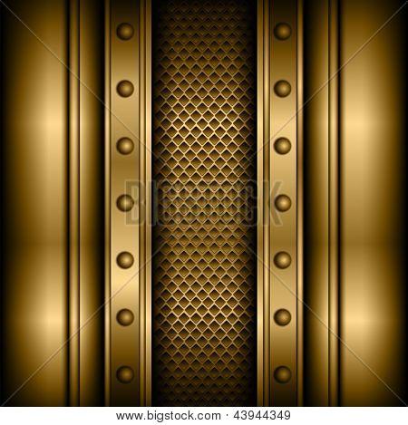 Background vector metallic.