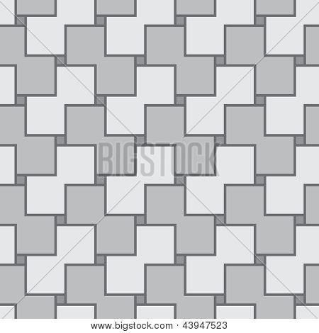 Abstrakt grau Square nahtloser Vektor Textur