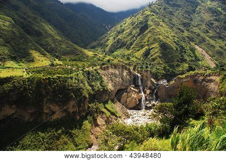 Cordilheira dos Andes, Equador