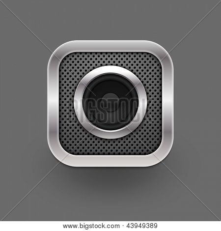 Speaker icon. Vector eps10