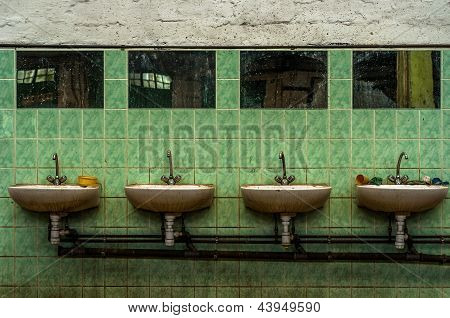 Industrial lavatory