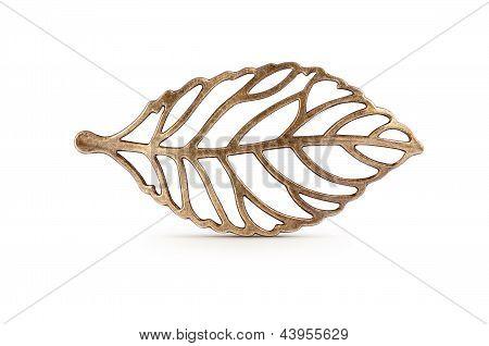 Bronze Leaf Symbol